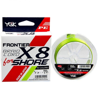 Braid Cord X8 Shore 150m