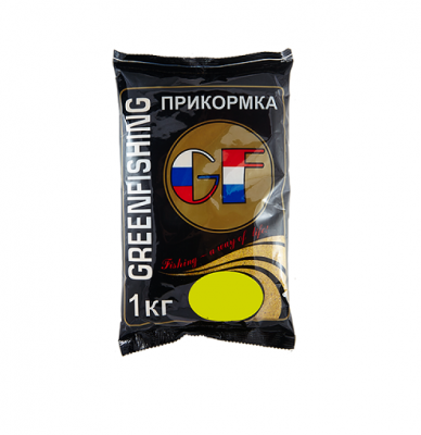 Прикорм GreenFishing GF Карп-Карась ваниль 1кг